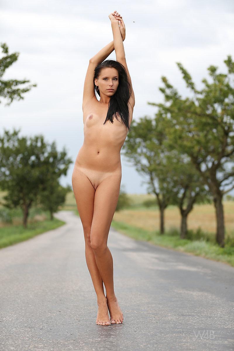 Naked vaginal bondage girl