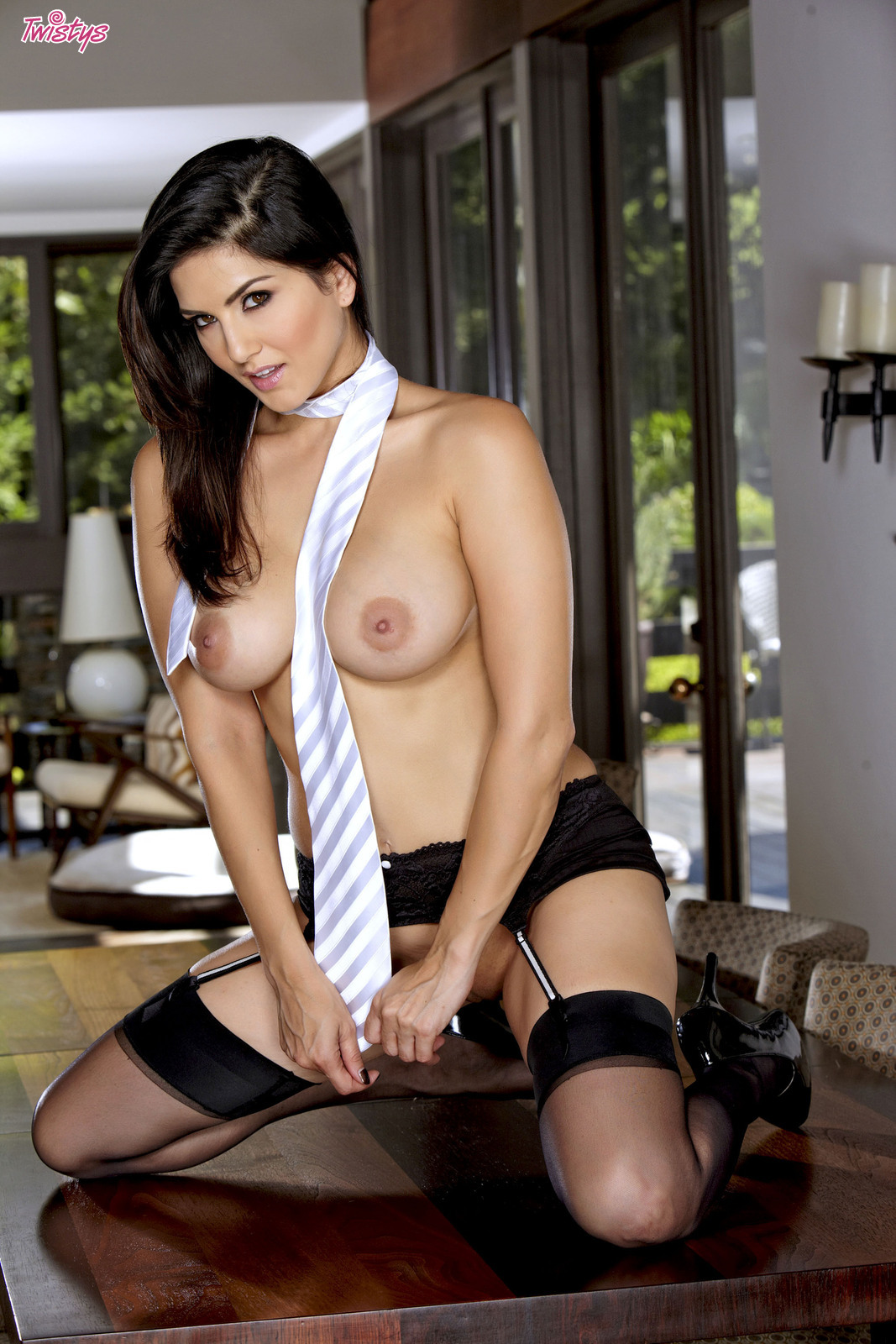 Are absolutely Sunny Leone nude white shirt
