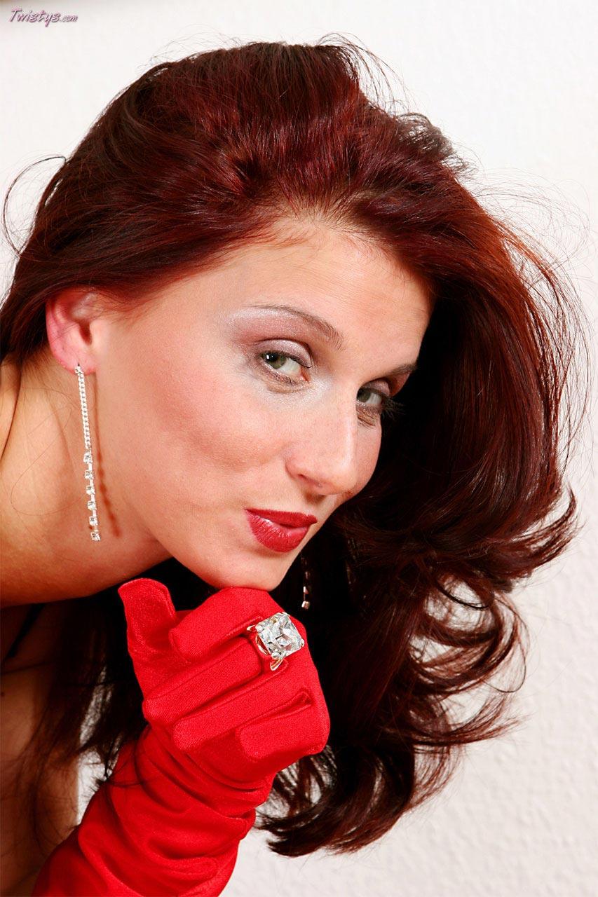 Ballhaus bettie busty redhead