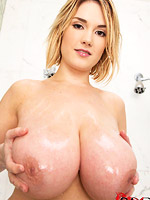 Hot horny pornstar masturbating from DDF Prod