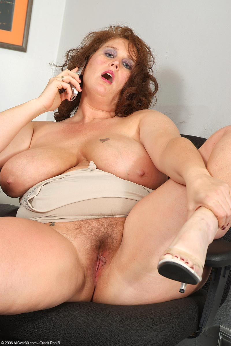busty bbw mature shows massive natural melons