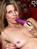 horny mom and her favorite sex toy from All Over 30