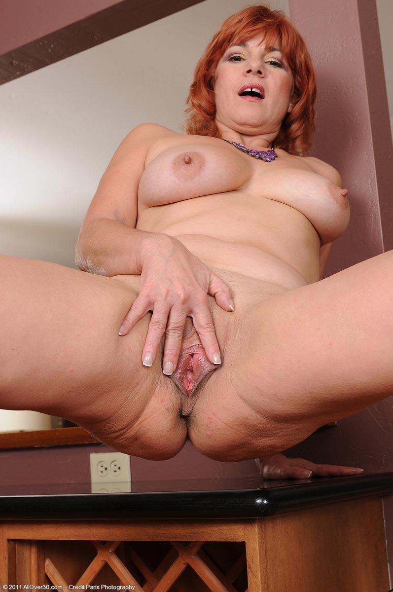 Very pity Redhead mature hot wife was