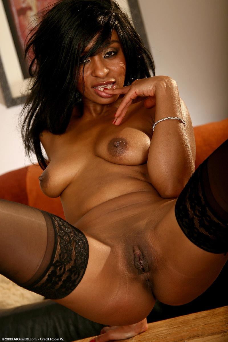 Not Ebony milfs at home