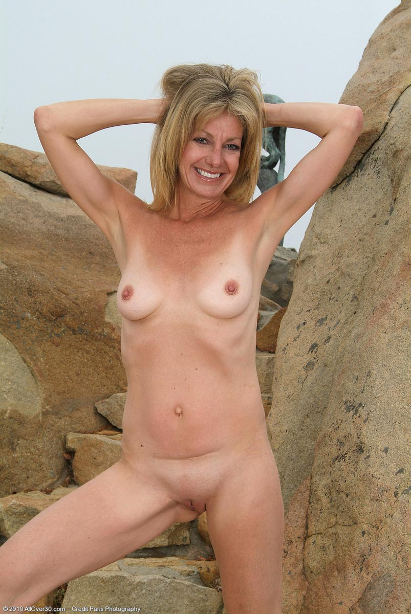 Slender Mature Nude