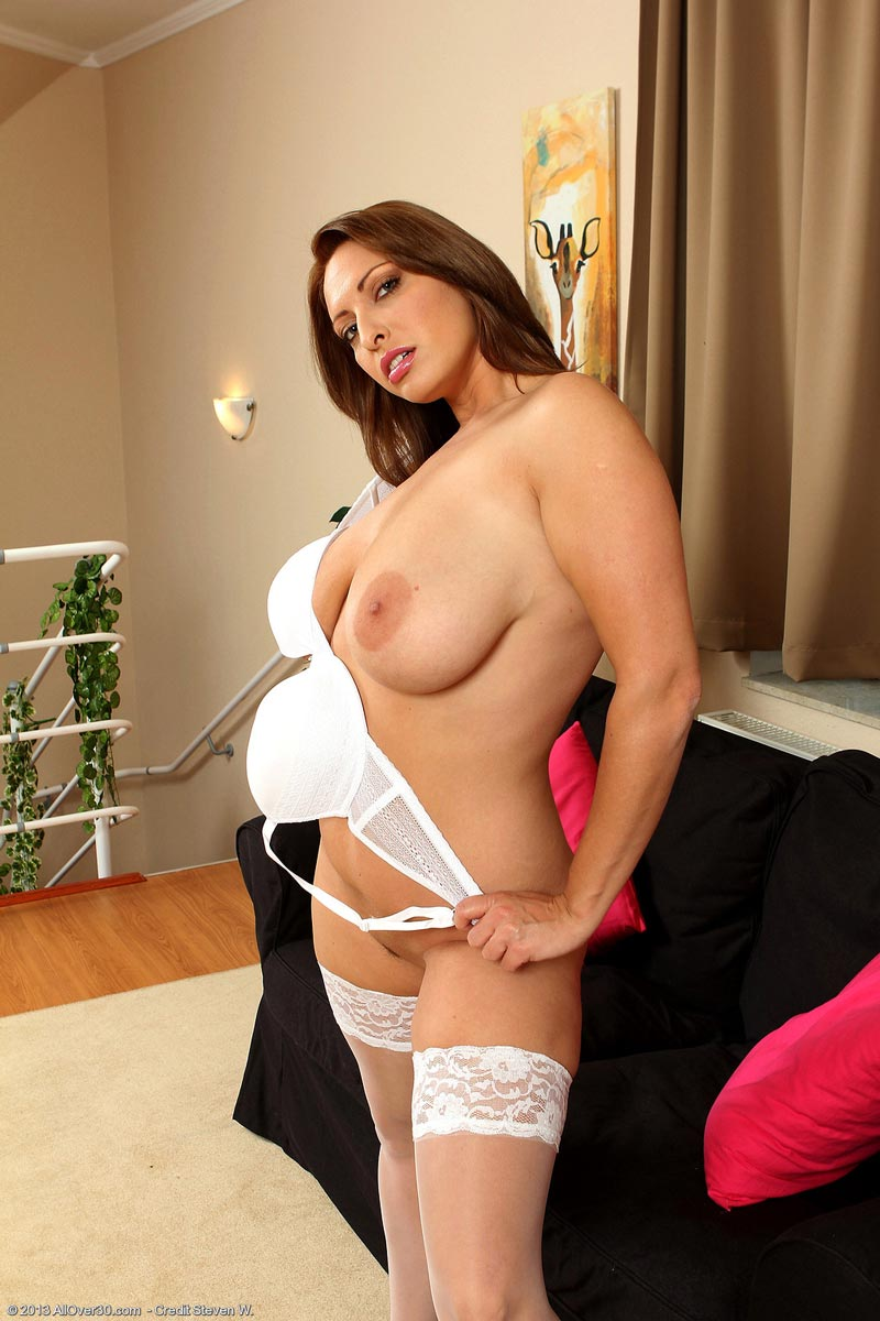 curvy housewife simona lingerie Busty in