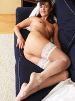 Horny all natural housewife shows pussy from All Over 30