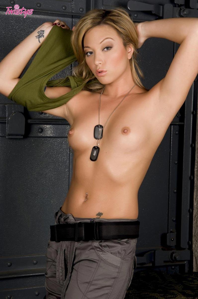 Naked with gun girl hot