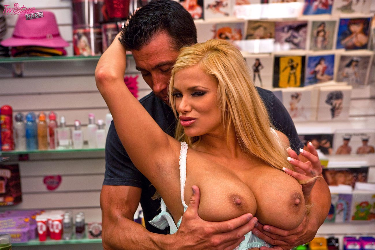 Seeing Shyla Stylez two cocks fucking gallery would love