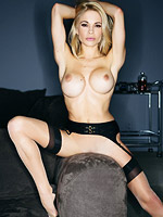 Horny hot blonde exposed from Playboy Cyber Club