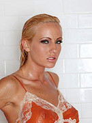 Horny tight bodied blonde in the shower from Twisty's