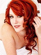 Hot horny redhead in bed from Twisty's
