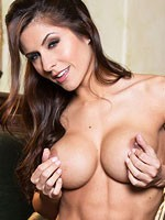 Danni gee shows her rock hard body