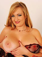Curvy big breasted lingerie model sara willis
