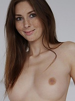 Stunning naked redhead kattie gold in bed